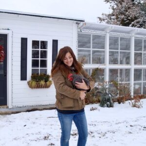 How We Winterized Our Chicken Coop! ���🥰// Garden Answer