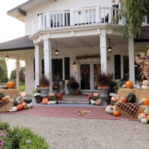 I Used a Ton of Pumpkins to Decorate Our Porch! 😆🎃🙌 // Garden Answer