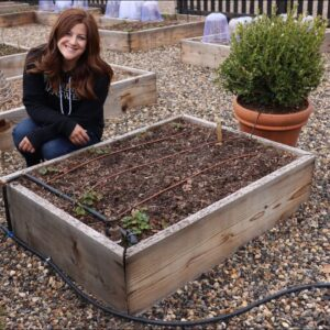 How to Install Drip Irrigation in Raised Beds! 💦🌿// Garden Answer