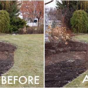 Reshaping One of Our Flower Beds! 🌾👍💚// Garden Answer