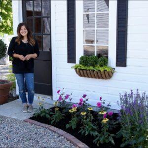 Planting Pollinator-Attracting Plants Around Our Chicken Coop! 🐝🦋// Garden Answer