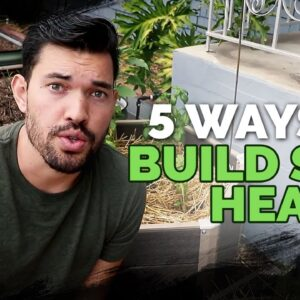 5 Easy Ways To Build Soil Health For FREE 😱 🆓