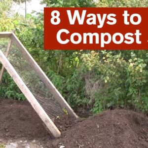 8 Ways to use a Compost Sieve