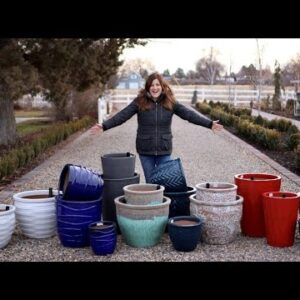 AquaPots and Michael Carr Designs containers have arrived!