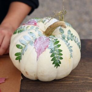 Botanical Pumpkin DIY
