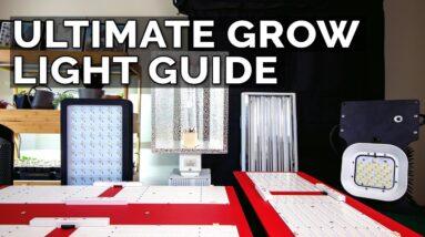 How to Choose a Grow Light: T5  Fluorescent vs. CMH vs. LED Grow Lights Explained
