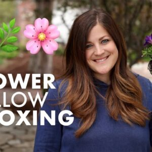 Container Gardens Made Easy with Flower Pillows!