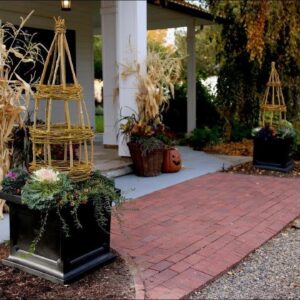 Create Height and Interest with a Handmade Obelisk!