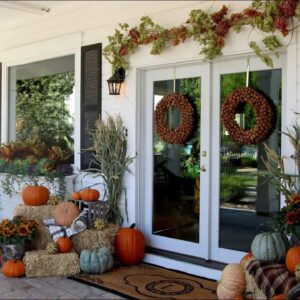 Decorating for Fall! ���// Garden Answer