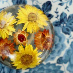 DIY Floral Paperweights!