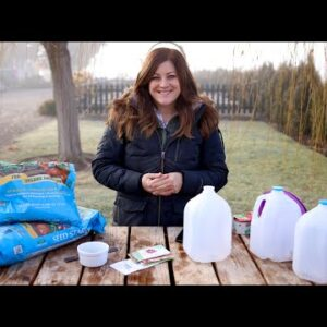 Winter Seed Sowing! 🌿👩🌾// Garden Answer