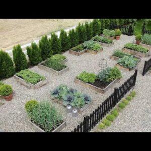 My Vegetable Garden Layout & Tour! 👩�🌾🥦�// Garden Answer