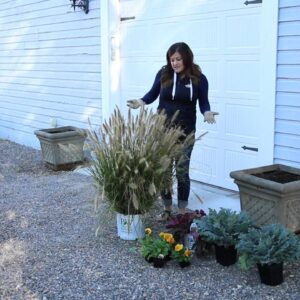 Fall Designs for Larger Containers
