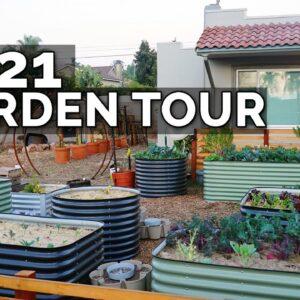 FULL 2021 Garden & Homestead Tour!