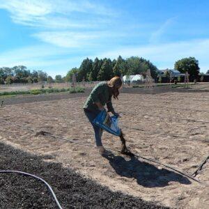 Planting All My Vine Crops! 🍉🥒🎃 // Garden Answer