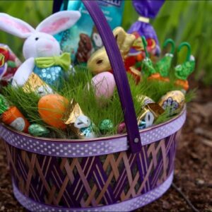 Greet Spring with A Grass Filled Easter Basket!