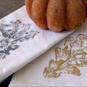 Hand Stamp Your Way To Autumn Color!
