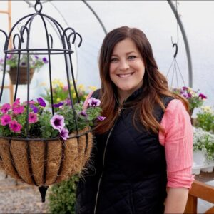 Planting Hanging Baskets: Getting Started! 🌸🙌// Garden Answer