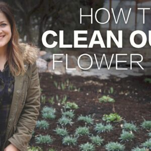 How to Clean Out a Flower Bed // Garden Answer