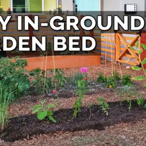How to Improve Soil and Build an In-Ground Garden Bed