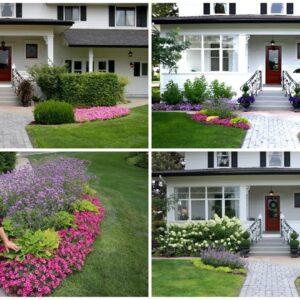 The Evolution of Our Front Flower Beds! 🌿💚// Garden Answer