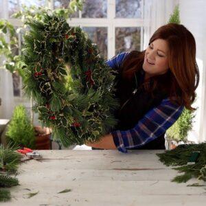 Wreath Making Basics! 🎄🥰❤️ // Garden Answer