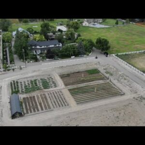 Tour of Our New Cut Flower Garden and Installing Retractable Hoses! 🌿💦 // Garden Answer