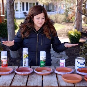 Testing 5 Different Sealers on Terracotta Saucers! Which One is the Best? 🌿 // Garden Answer