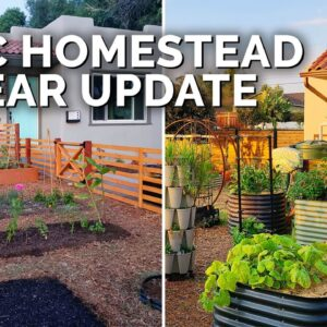 One Year Garden and Homestead Update!