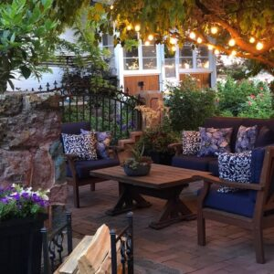 How to Create a Beautiful Outdoor Patio Area  🌿// Garden Answer