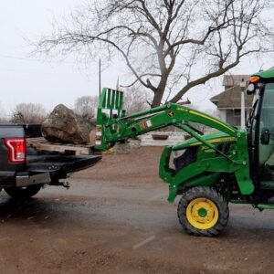 New Barn Lights, Buying a Rock, & Moving Urns Around While it Snows! ��� // Garden Answer