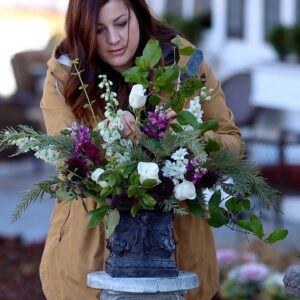 Creating an Arrangement from Grocery Store Cut Flowers (For My Mom) 🌿🌷// Garden Answer