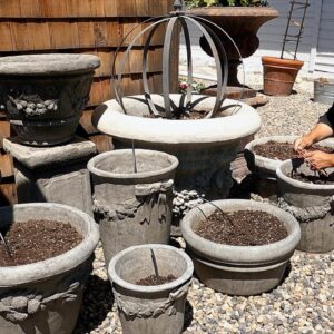 Setting Up 18 Pots On Drip Irrigation! 💦 // Garden Answer