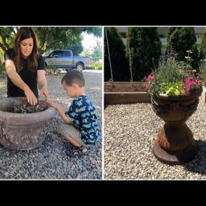 Refurbishing & Planting an Old Container for Our Vegetable Garden! 🌿💚 // Garden Answer