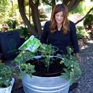 Planting a Container Salsa Garden! 🌿🍅🌶// Garden Answer