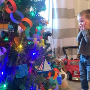 Getting a Start on Our Christmas Decorating: Benjamin's Tree + Nutcracker Tree! 🚗🎄❤️// Garden Answer