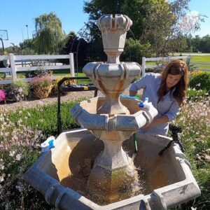 The Fountain was DISGUSTING! 🤢💦 // Garden Answer