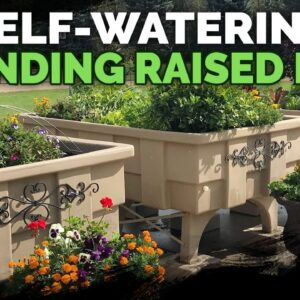 This 1,500lb Self-Watering Raised Bed Is Absolutely Insane