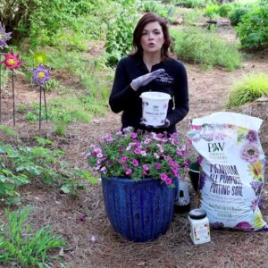 Three Ways to Make A Hanging Basket Container Last All Summer