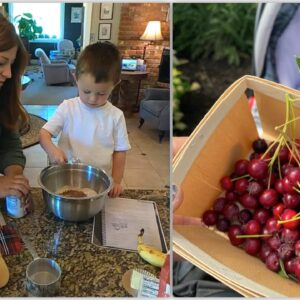 Harvesting & Baking with Serviceberries! 🌳 🥧 🥰