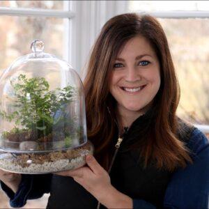 Putting Together a Terrarium with Ferns! 🌿💚// Garden Answer