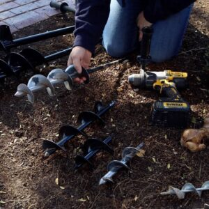 What Size Auger Do You Need for Planting?? 🌿// Garden Answer