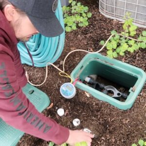 Setting Up Our Window Boxes on Drip Irrigation! 💦🌿// Garden Answer