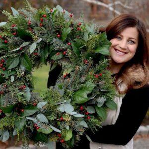 Winter Wreath DIY Time!