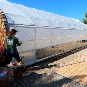 Upgrading our Cold Frame to a Greenhouse! 🌿 // Garden Answer
